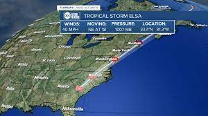 Tropical storm warnings issued as ...