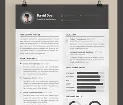 Awesome Free Resume Templates Awesome Free Modern Resume Templates