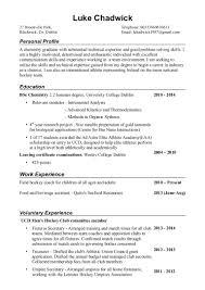 Chemist Resume Skills Resume For Study