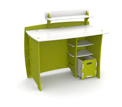 lime green office furniture. Amazon.com: Legaré Kids Furniture Frog Series Collection, No Tools Assembly 43-Inch Complete Desk System With File Cart, Lime Green And White: Home \u0026 Office N