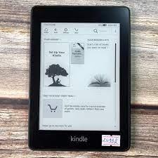 Máy Nhật Cũ] Máy Đọc Sách Kindle Paperwhite Gen 4 10th Code 24992