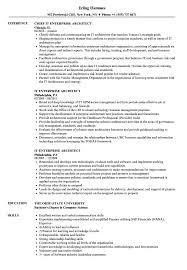 It Enterprise Architect Resume Samples Velvet Jobs