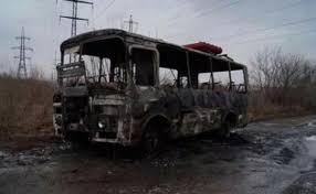 Сгоревший автобус у владельца не было лицензии kz  Сгоревший автобус у владельца не было лицензии kz Аналитический Интернет портал