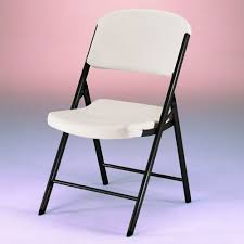 lifetime folding chairs white or beige