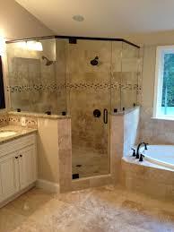 Badezimmer Design Ideen Renovieren Ecke Dusche Dekorieren Fotos