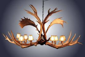 horn chandelier