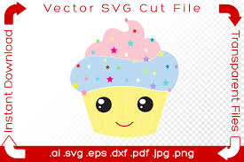   view 35 cupcake wrapper illustration, images and graphics from +50,000 possibilities. Happy Cupcake In Pastel Colors Graphic By Ibeartoo Creative Fabrica