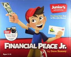 Details About Financial Peace Jr Dave Ramsey Juniors Adventures Smart Money Smart Kids New