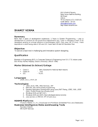 Really Good Resume Examples Examples Of Resumes