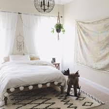 bohemian platform bed ideas