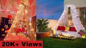 canopy decoration for birthday cabana