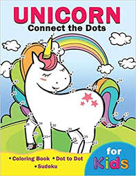 Unicorn Connect The Dots For Kids Easy And Fun Activity Learning