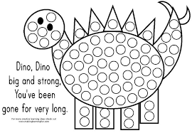 Small Picture Do A Dot Marker Activity Pages Speech Therapy Ideas Pinterest