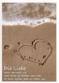 Postkarte Liebesspruch Die Liebe Katja Dieckmann Freundschafts