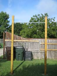 Backyard Pullup And Dip Bar System  The Invention FactoryDiy Backyard Pull Up Bar