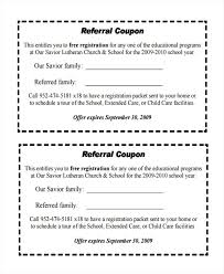 Referral Coupon Template Adorable Sample Referral Coupon Template 44 Download In Pdf Psd With