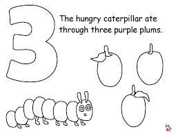 Caterpillar Coloring Sheet The Very Hungry Caterpillar Coloring