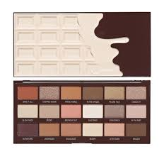 makeup revolution paleta cieni s chocolate