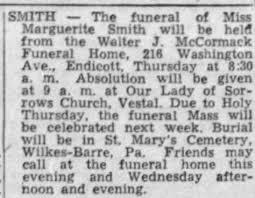 Obituary for Marguerite SMITH - Newspapers.com