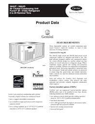 38auz 38aud air cooled condensing unit puronr r 410a 38auz 38aud air cooled condensing unit puronr r 410a refrigerant 1 52 pages
