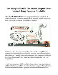 The Jump Manual Free Download Ebook Pdf Jacob Hiller By