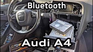 Установка bluetooth <b>Audi</b> Concert <b>A4</b> A5 Q5 штатная ...