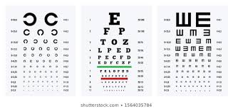Are All Eye Exam Charts The Same Eye Chart Photos 28 300 Stock Image Results Shutterstock