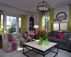 pink for chic living room decor