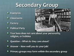 Secondary Group Ppt Groups Within Society Powerpoint Presentation Id 2096860