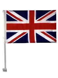 Union Jack Car Flag - Cloth - 18