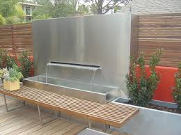 outdoor wall fountains modern american gardener motivate fountain and 18