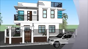 4 Storey House Design With Rooftop Modern 2 Storey House With Roofdeck 2 Storey House Design