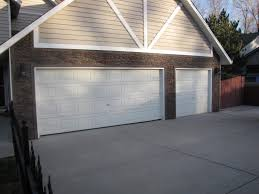 Garage Door garage door exterior trim photographs : Garage Remodel, Stacked Stone Style | Creative Faux Panels