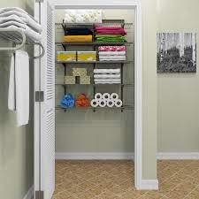 hanging closet shelves linen