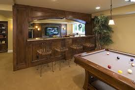 basement pool table. Wonderful Basement Basement TV Wall And Pool Table Intended