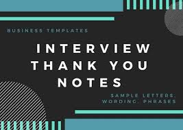 Thank Interview Letter Interview Thank You Letter Boost Your Chances Of Landing The Job