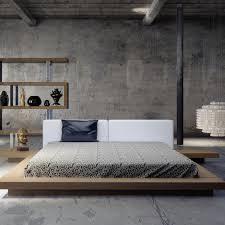 Platform Bedroom Sloan Upholstered Platform Bed Reviews Allmodern
