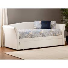 upholstered daybed with trundle.  Trundle Throughout Upholstered Daybed With Trundle O