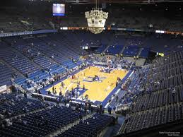 Rupp Arena Seating Chart Section 231 Rupp Arena Section 219 Kentucky Basketball Rateyourseats Com