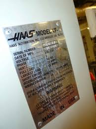 fp miller > inventory > > detail photo 4 for haas vf 2 cnc vertical machining center