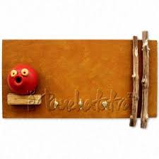 texture paint key hanger to gift on housewarming ceremony in india panchatatva
