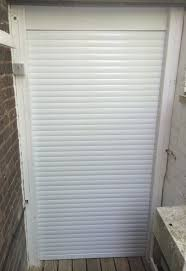 Roller Shutter Kitchen Doors Metallic Line Rehau Kitchen Roller Shutters For Appliance Cupboard