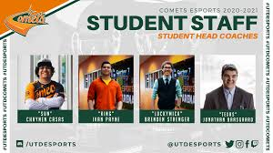 Meet The Student Head Coaches for the Comets Esports Teams Fall 2020 – UT  Dallas Esports