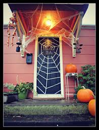 halloween front door decorationsHalloween Front Door 2012  The Family Chapters