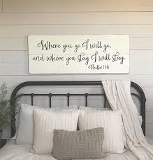 sumptuous master bedroom wall art decor where you go i will wood signs like this item on master bedroom wall art decor with master bedroom wall art arsmart fo