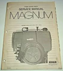 kohler engines parts manual magnum model m14 14hp d 14 99 kohler magnum m8 m10 m12 m14 m16 engine service repair shop manual original