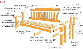 Small Picture Plans garden bench Download free plans and do it yourself guides
