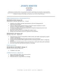 Classic Resume Template Expert Preferred Resume Templates Resume Genius 2