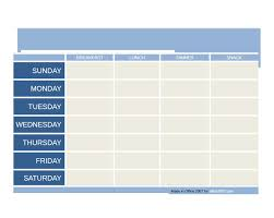 menu planner template free 40 weekly meal planning templates template lab
