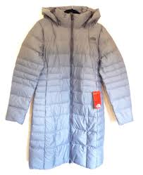 the north face women s metropolis ii parka 550 down jacket trench coat grey